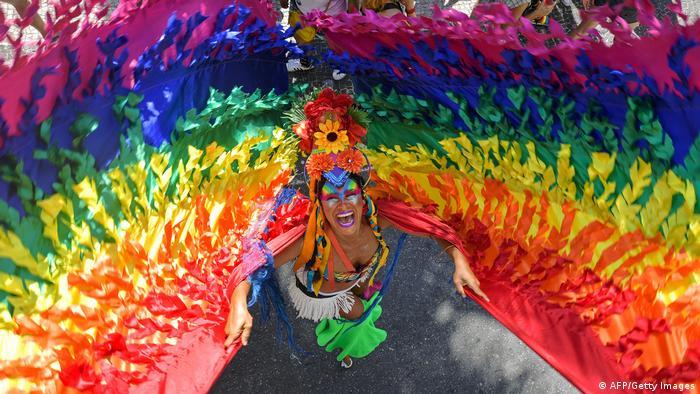 BdTD Bild des Tages Deutsch Gay Pride in Rio de Janeiro (AFP/Getty Images)