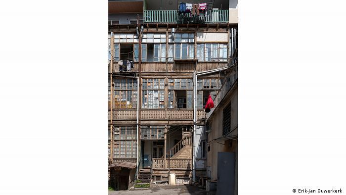 Традиционные тбилисские дворики