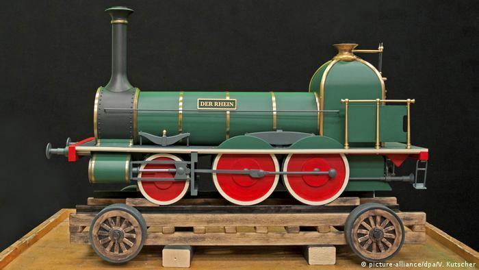 Модель локомотива Рейн 1852 года