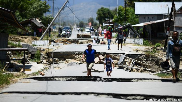 Indonesia: Palu tsunami destruction (Getty Images/AFP/J. Samad)