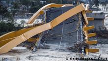 Indonesien Palu Erdbeben und Tsunami zerstört Infrastruktur