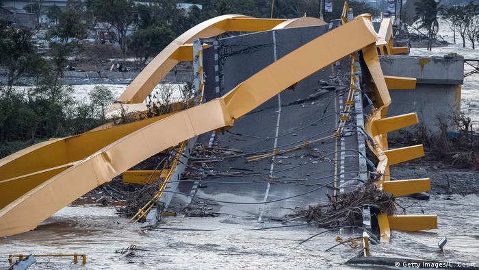 Indonesien Palu Erdbeben und Tsunami zerstört Infrastruktur (Getty Images/C. Court)