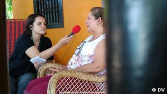 Clara Hebel Kolumbien Interview