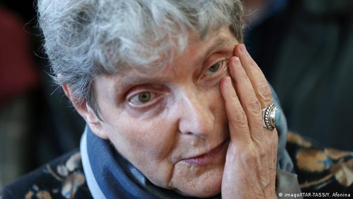 Russische Menschenrechtlerin Swetlana Gannuschkina (imago/ITAR-TASS/Y. Afonina)