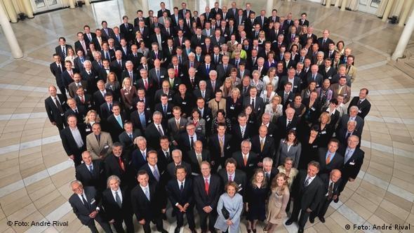 Коллектив одной из семейных компаний в Германии