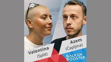 DW BalkPrvi su u vodu skočili filmašica Valentina Batalić iz Hrvatske i novinar Azem Kurtić iz Bosne i Hercegovine. Bolje rečeno u more. Jer Azem je u prvom tjednu rujna Valentinu posjetio u Splitu. Njemu ovo nije bio baš skok u hladnu vodu jer je već sudjelovao u Balkan Boosteru prošle godine i slovi kao iskusni balkanbusteraš.an Booster Projekt