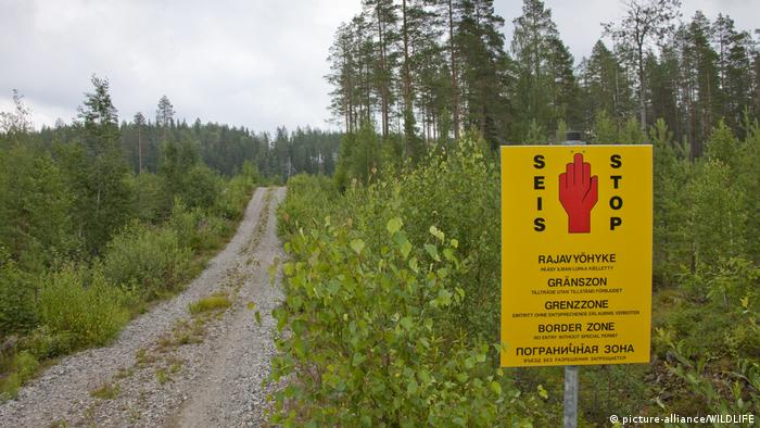 Finnisch-russische Grenze