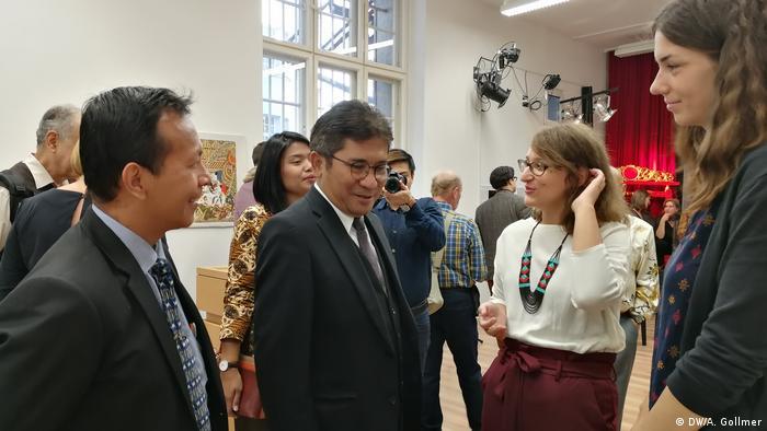 Indonesische Schattenspielaustellung in Berlin, 30. September 2018