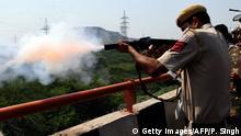 Indien Protest von Landwirten | Polizei & Tränengas