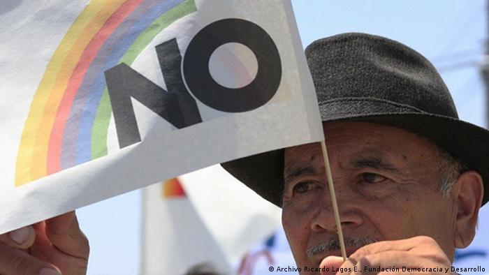 En el plebiscito del 5 de octubre de 1988, el No derrotó las aspiraciones de Augusto Pinochet de permanecer otros ocho años en el poder.