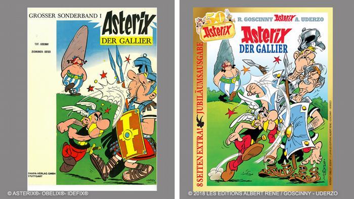 Cuando la primera historieta del guerrero galo llegó a Alemania, el personaje ya era famoso en Francia.