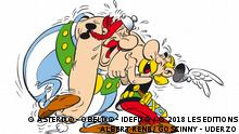 Asterix Obelix lachend