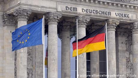 Deutschland Reichstag in Berlin | Flaggen EU & Deutschland