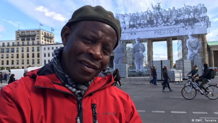 Berlin - Mosambikaner Ibraimo Alberto (DW/C. Teixeira)