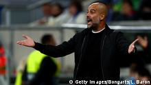 UEFA Champions League | TSG Hoffenheim vs. Manchester City | Josep Guardiola, Trainer Manchester (Getty Images/Bongarts/L. Baron)
