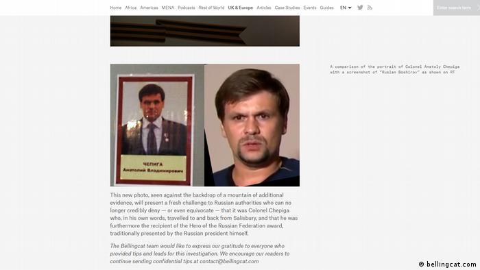 Фото Чепіги зі стенду училища і кадр з інтерв'ю RT