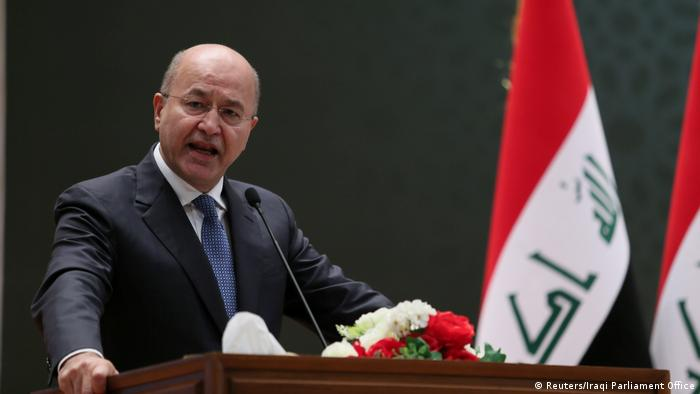Barham Salih (Reuters/Iraqi Parliament Office)