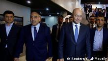 Adel Abdul Mahdi und Barham Salih