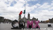 Gedenken an die Opfer des Studenten-Massakers 1968 in Mexiko-Stadt