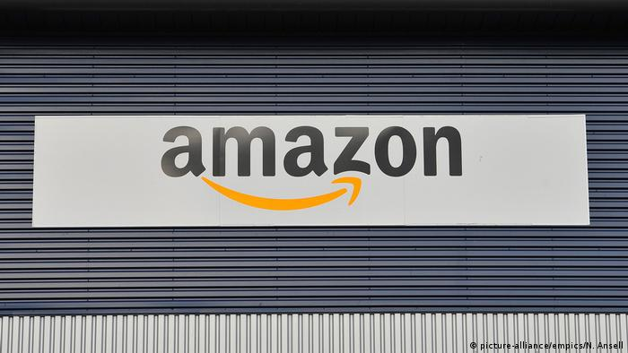 Amazon Schild (picture-alliance/empics/N. Ansell)