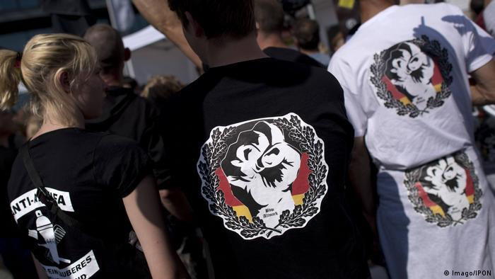 بعض رموز العنف اليميني المتطرف في المانيا