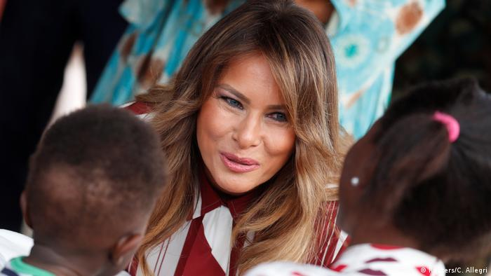 Melania Trump Besuch in Ghana (Reuters/C. Allegri)
