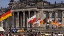 Deutschland Berlin Tag der deutschen Einheit 1990