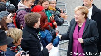Deutschland Feier zum Tag der Deutschen Einheit in Berlin   Angela Merkel
