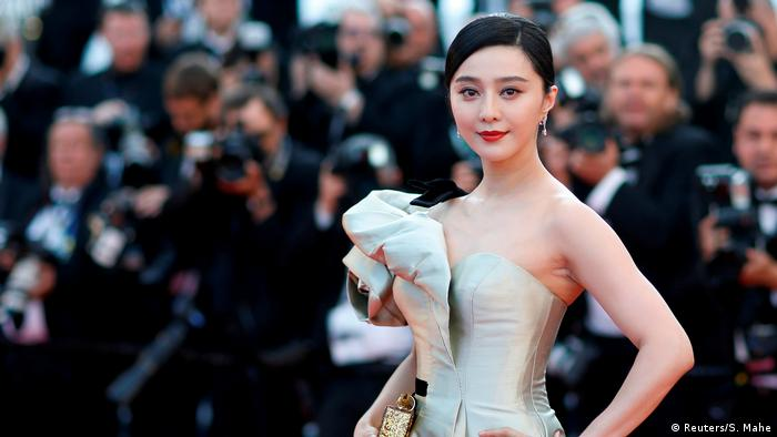 China Schauspielerin Fan Bingbing (Reuters/S. Mahe)