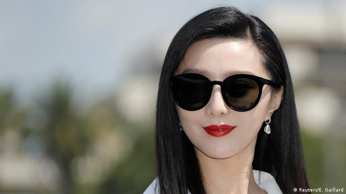 China Schauspielerin Fan Bingbing (Reuters/E. Gaillard)