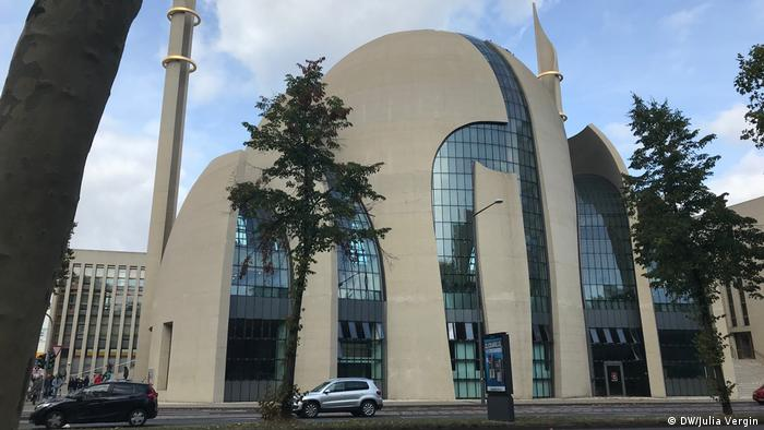 The Central Mosque in Cologne (DW/Julia Vergin)