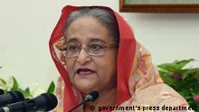 Bangladesch Premierministerin Sheikh Hasina zum Gesetz zur digitalen Sicherheit