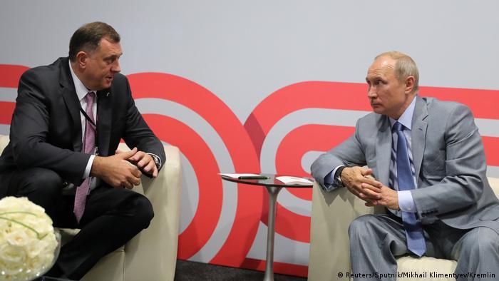 Vladimir Putin & Milorad Dodik of the Republika Srpska in Sochi