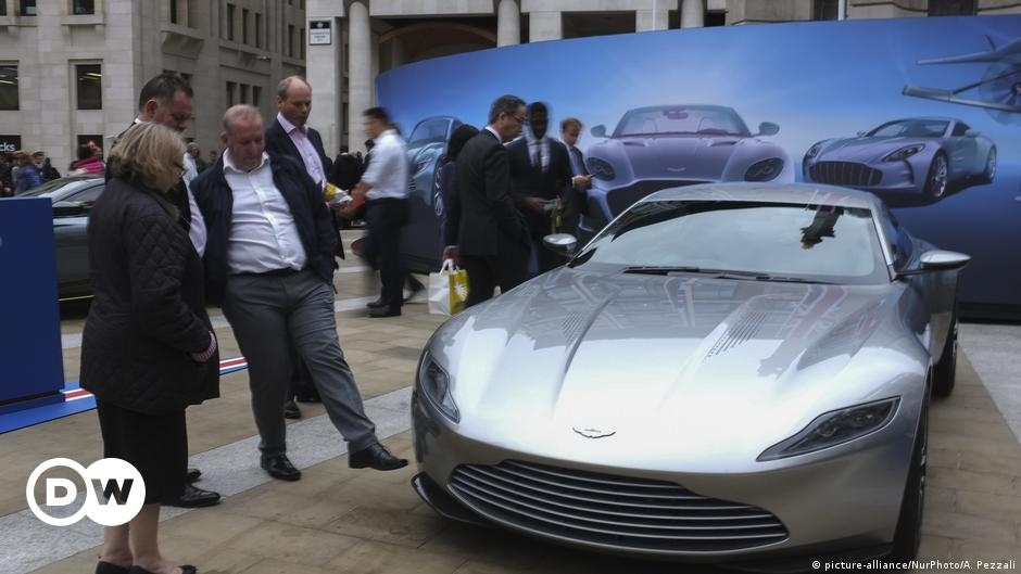 Daimler plans larger stake in James Bond carmaker Aston Martin