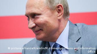 Vladimir Putin (picture-alliance/Kremlin/M. Klimentyev/Press and Information Office)