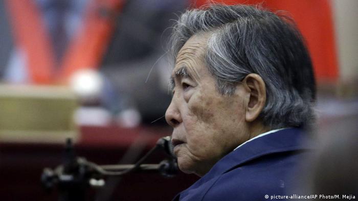 Peru Alberto Fujimori, ehemaliger Präsident (picture-alliance/AP Photo/M. Mejia)