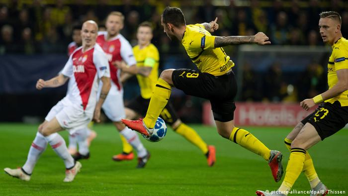 UEFA Champions League | Borussia Dortmund vs. AS Monaco (picture-alliance/dpa/B. Thissen)