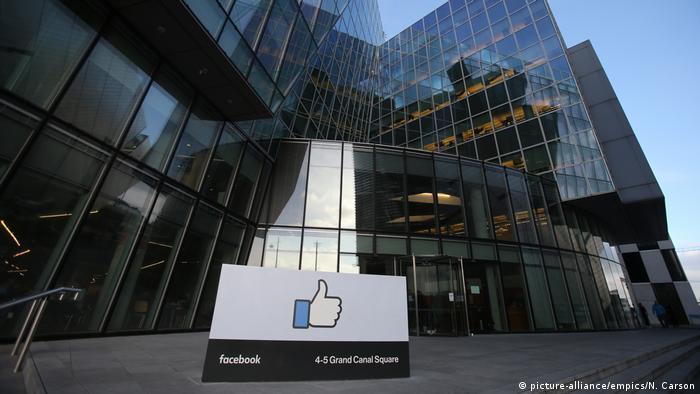 Facebook Zentrale in Dublin