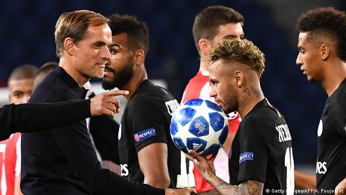 UEFA Champions League | Paris St Germain vs. Crvena Zvezda Thomas Tuchel (Getty Images/AFP/A. Poujoulat)