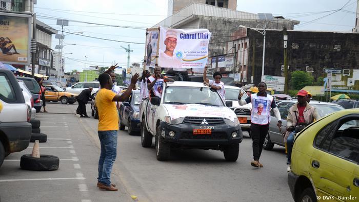Kamerun Präsidentschaftswahl Wahlkampf