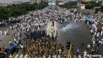 Indien Bauern Protest in Neu-Delhi (Reuters)