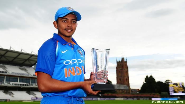 Prithvi Shaw (Getty Images/H. Trump)