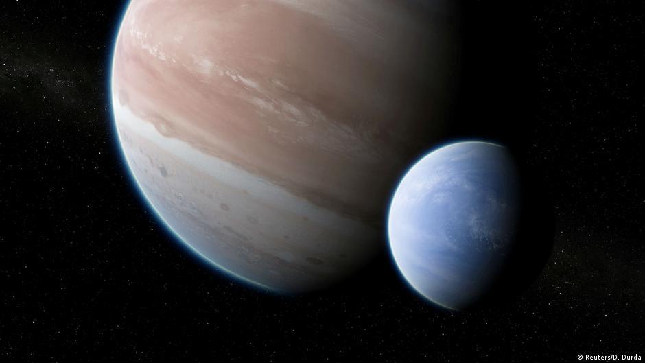 Teleskope Kepler Und Hubble Entdecken Ersten Exomond