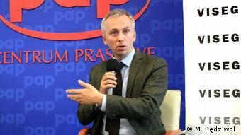 Wojciech Przybylski, urednik magazina Visegrad Insight