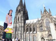 Deutschsein ist kein Zuckerschlecken: Auf nach Köln