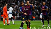 UEFA Champions League - Gruppe B: Tottenham Hotspur - Barcelona