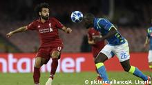 UEFA Champions League: Napoli - Liverpool