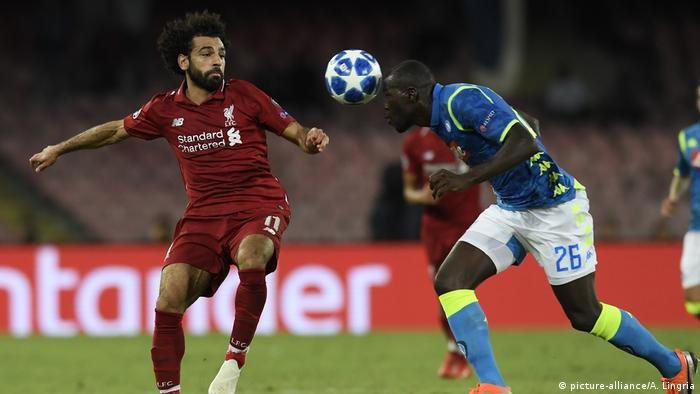 UEFA Champions League: Napoli - Liverpool (picture-alliance/A. Lingria)