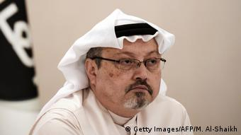 Saudi journalist Jamal Khashoggi (Getty Images/AFP/M. Al-Shaikh)