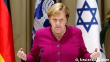 Israel Angela Merkel Statement nach dem Treffen mit dem Präsidenten Reuven Rivlin in Jerusalem